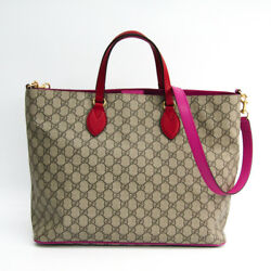 Gucci GG Supreme 453705 Women's GG SupremeLeather Tote Bag GG BeigePi BF327855