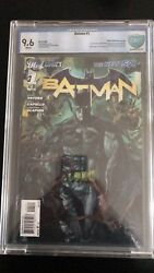 Batman The New 52 Number One Variant 9.6 Graded