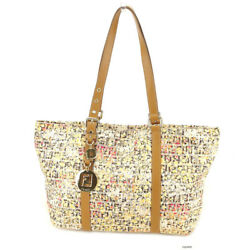 Fendi Tote bag Multicolor Beige Woman Authentic Used T3835