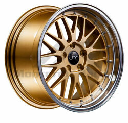 20x10 5x108 JNC 005 GOLD MACHINE MADE FOR FORD JAGUAR VOLVO