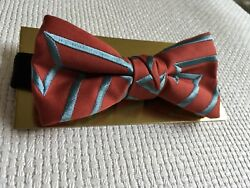 Bow Tie Pre-made Luxe Designer Bow NEW!! With Box