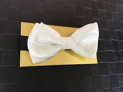 Bow Tie Pre-made Luxe Designer Bow NEW!!
