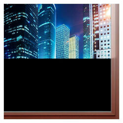 Rabbitgoo Blackout Window Film Privacy Static Cling Home Glass Tint Stickers