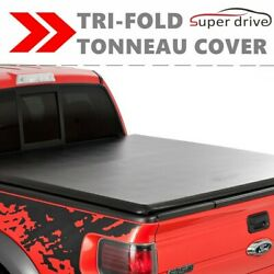 Lock Soft Tri-Fold Tonneau Cover For 94-04 CHEVROLET S10GMC S15 6'FT SHORT BED