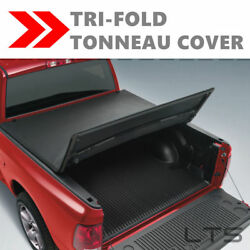 Lock Soft Tri-Fold Tonneau Tonno Cover For 2005-2018 Frontier  6ft72in Bed