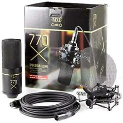 770X Multi-Pattern Vocal Condenser Microphone Package