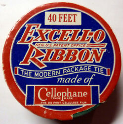 VTG Excell-o Ribbon DUPONT CELLOPHANE Scottish Terrier Scottie rare find !!!!!!!