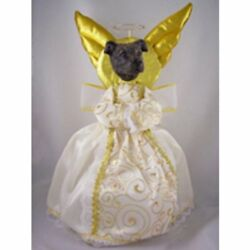 Staffordshire Bull Terrier Brindle Doogie Collection Angel Tree Topper