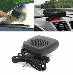 2 In 1 Portable Car Auto Fan Heater Cooler Plugin Demister Defroster 12V 200W