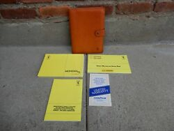 Ferrari Mondial T Owners Manual Set With Pouch And Free Shipping 1990