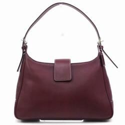Coach Shoulder bag Red Woman Authentic Used U3429