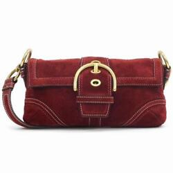 Coach Shoulder bag Red Woman Authentic Used U3905