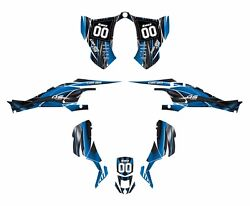Can Am Ds 450 Graphics Kit By Amg 24 Mil Thick Durable Pliable Vinyl 3333 Blue