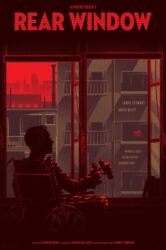 Rear Window By Kevin Tong - Variant - Rare Sold Out Mondo Print