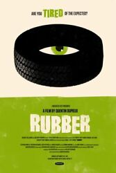 Rubber By Olly Moss - Variant - Rare Sold Out Mondo Print