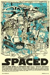 Spaced By Tyler Stout - Rare Sold Out Mondo Print