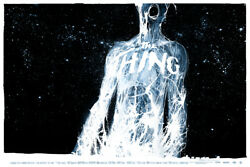 The Thing By Jock - Variant - Rare Sold Out Mondo Print