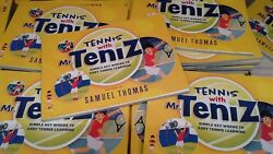 Tennis With Mr.teniz - A Simple And Easy Illustrated Tennis Book For Kids