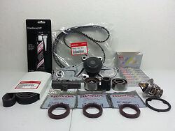 Genuine Timing Belt + Complete W/plugs And Water Pump Kit For Honda Pilot V6 05
