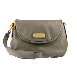 NWT Marc by Marc Jacobs ORIGINAL New Q NATASHA Leather Crossbody Bag TAUPE $380+