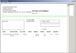 Emr4doctors Pt/chiro Billing Reports Network And And039paperlessand039 Software