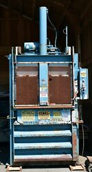 Marathon Vertical Hydraulic Baler Compactor V-4830hd - For Parts Only New Price
