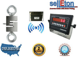 Wireless Industrial Op-926 Hanging Scale/ Hoist / With Led Display 20000 X 2 Lb