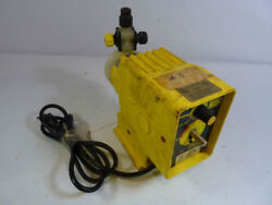 Lmi A761-65s Electromagnetic Dosing Pump Used