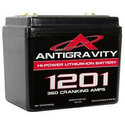 Antigravity Batteries 12 Cell Lithium Battery Ag-1201 Small Case Motorcycle