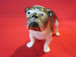 Vintage ceramic porcelain English Bulldog figurine 6 12