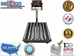 Op-915-rt Ntep / Legal For Trade Roller Top Bench Scale
