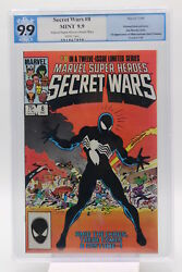 Secret Wars #8 PGX 9.9 1st Appearance of Alien Costume Later Becomes Venom