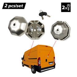 1Pair Heavy Duty Van Garage Lock Security Safety Device for Side and Rear Doors