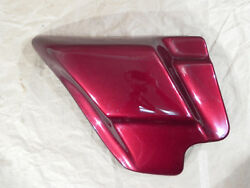 Side Cover Left Crimson Red Sunglo 66619-08coz Harley Davidson Touring 1919