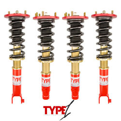 Function And Form For 08-12 Honda Accord Ex Type 1 Height Adjustable Coilover Kit