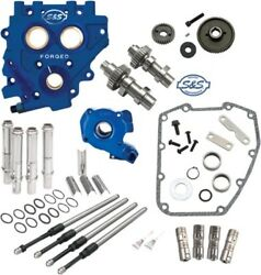 S&S Gear-Drive 510 Cam Chest Upgrade Kit Cams for 2007-2017 Harley Twin Cam