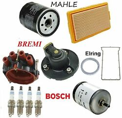 Tune Up Kit Cap Rotor Filters Spark Plugs Fit Bmw M3 E30 1988-1991