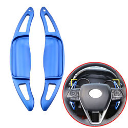 2x Steering Wheel Shift Paddle Extension Cover For Toyota Corolla Camry Avalon