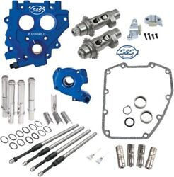 S&S 551 Easy Start Camchest Kit w Pushrods Oil Pump Plate Harley 07-17