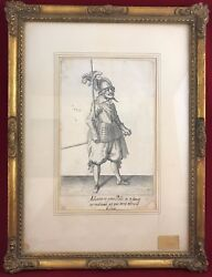 Art Painting 17th Century - Jaques de Gheyn Exercise of Arms - Lot Of 3