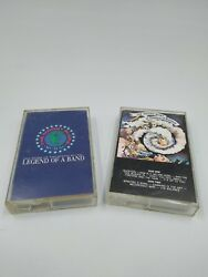 The Moody Blues Cassette Tape Lot - Question Of Balance Legend Of A Band