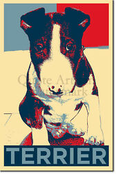 Bull Terrier Art Print 'Hope' - Photo Poster Gift - Animal Dog Lovers Canine