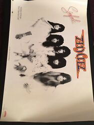 Angel - SINFUL 1979 Casablanca Records  PROMO ORIGINAL Poster-KISS Punky Meadows