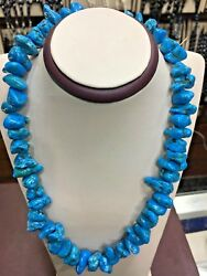 Genuine Natural Egyptian Turquoise Necklace 23