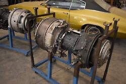 Lycoming T53-L-110 Helicopter Engine with stand  T53 Bell Airboat