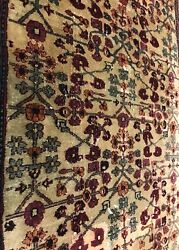 An Awesome Antique Indian Runner Rug