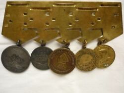 Russian Soviet Set Of Medals With A Medal Nakhimova Nahimova Documents Photos