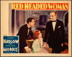 Movie Poster Red Headed Woman 1932 Lobby Card 11