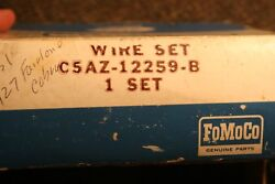 Nos 1965-66 427 Cobra Fairlane Plug Wires Fomoco Boots 0330 Print On Wires.