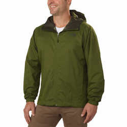 NEW The North Face Men's Quest Waterproof Hooded Jacket Scallion Green Medium M